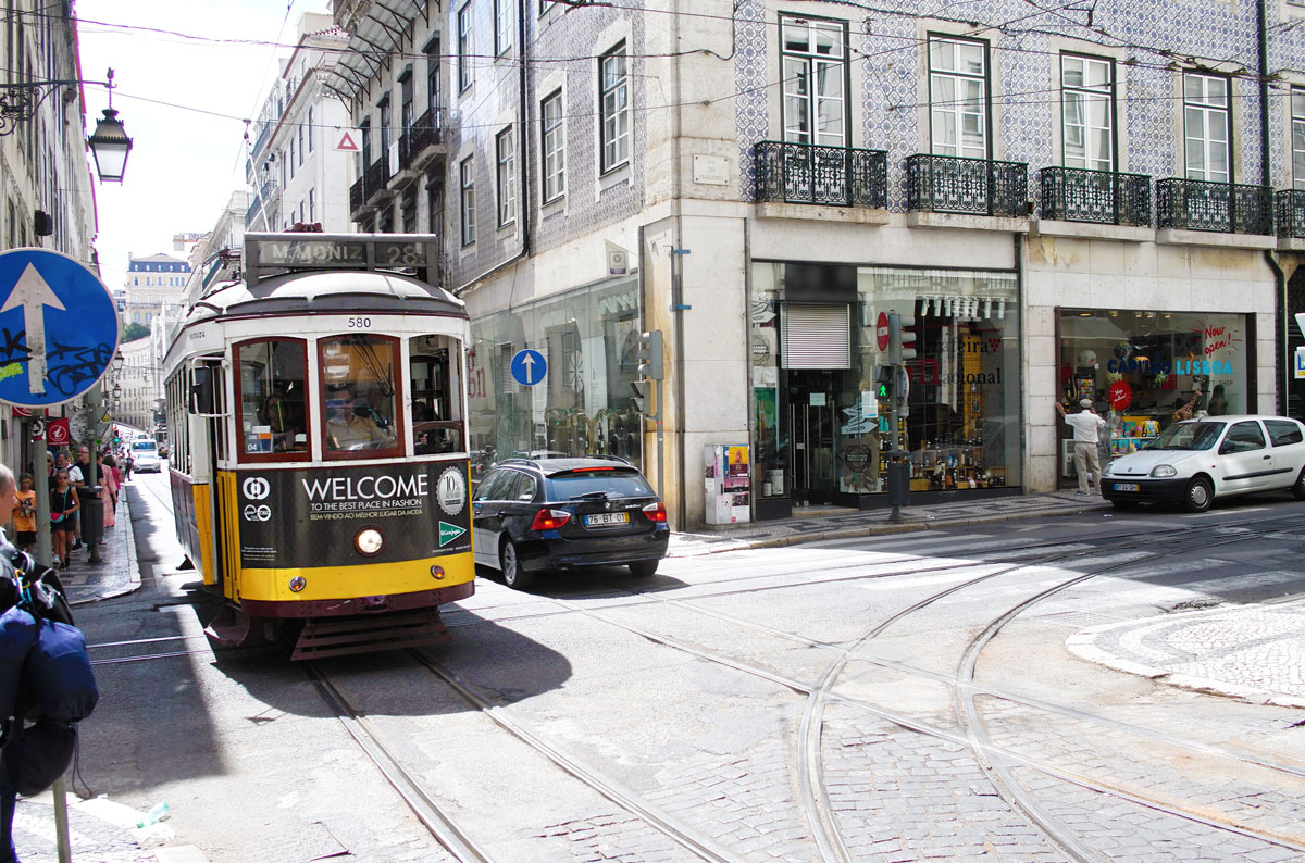 Just street Life in Lisbon