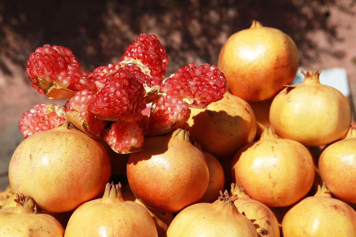 Garnet from Morroco