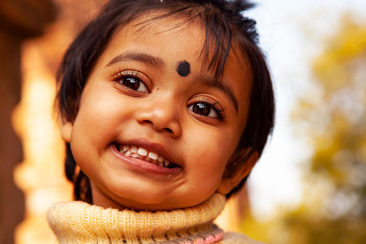 Kid in Delhi