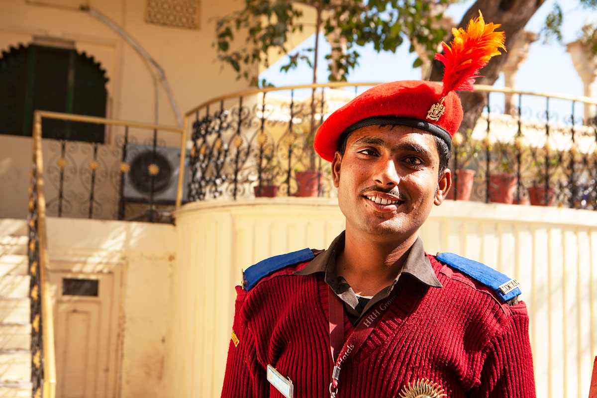 Security guard in Udaipur