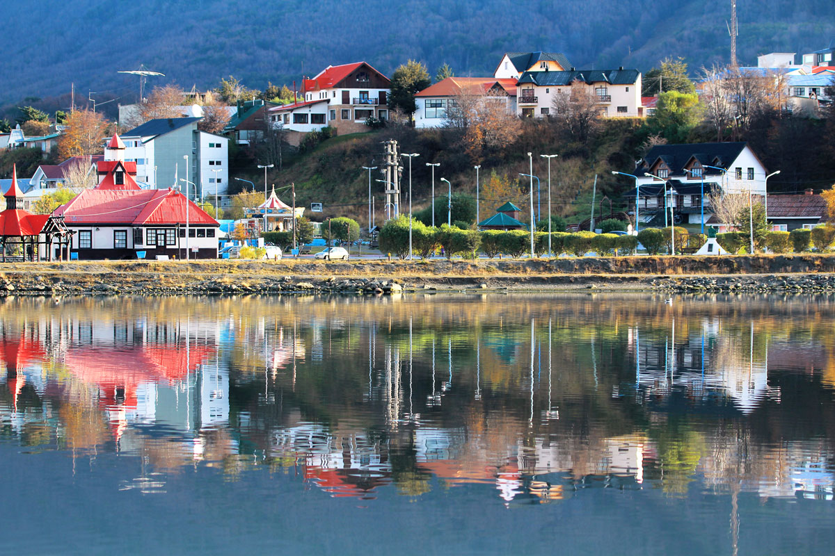 Ushuaia reflections