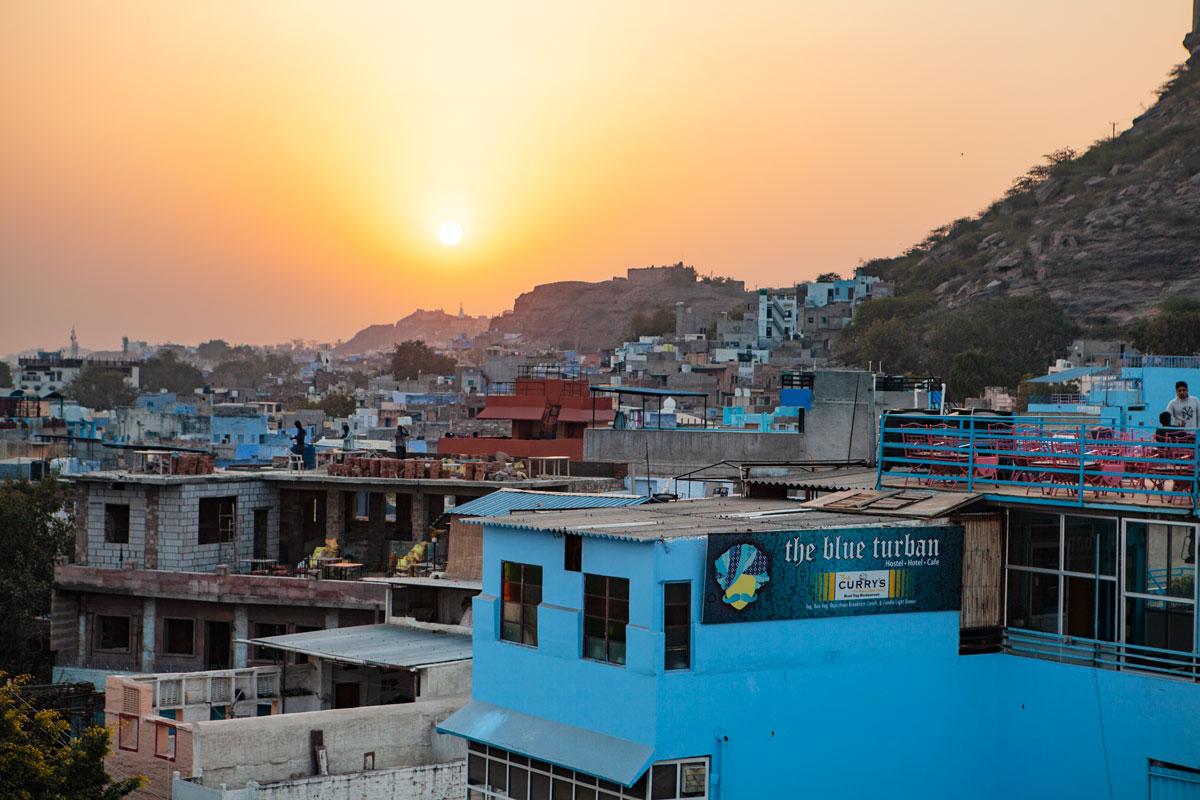Jodhpur at sun set