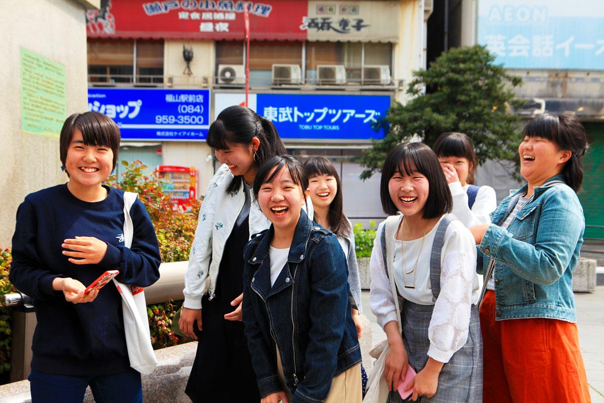 Japan smiles