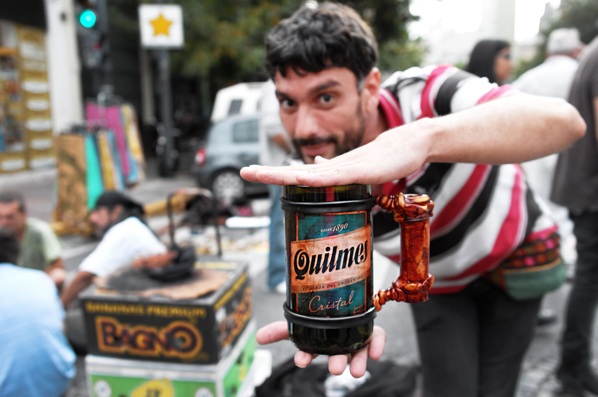 Buenos Aires say hi , drink Quilmes
